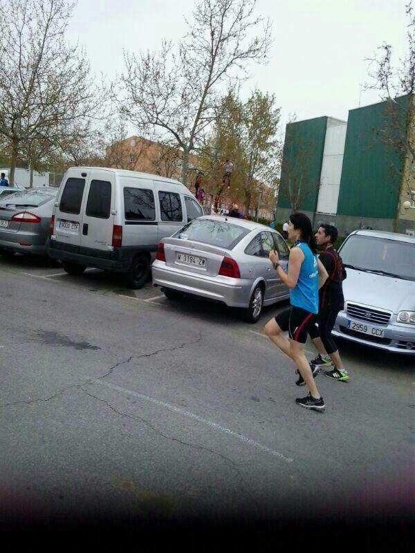Ro runner, en acción